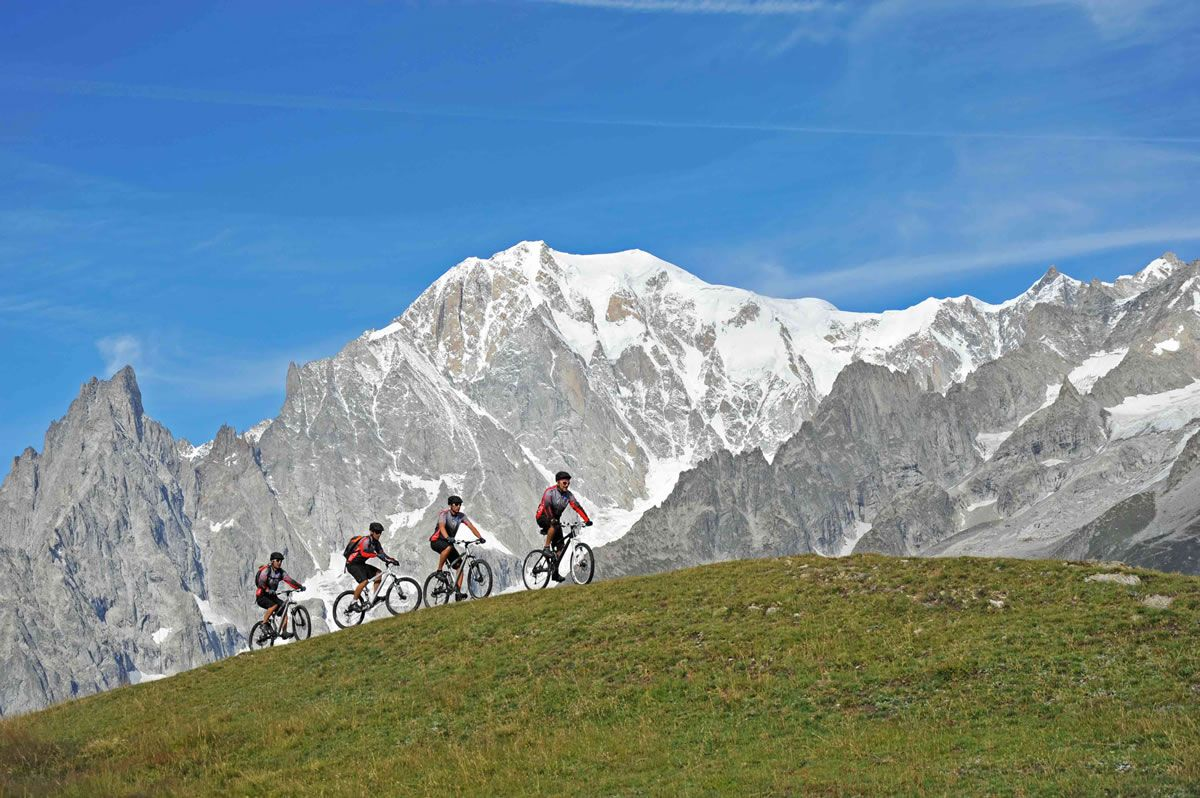 Mountain bike - Courmayeur