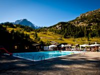 Piscina alpina Checruit - Courmayeur