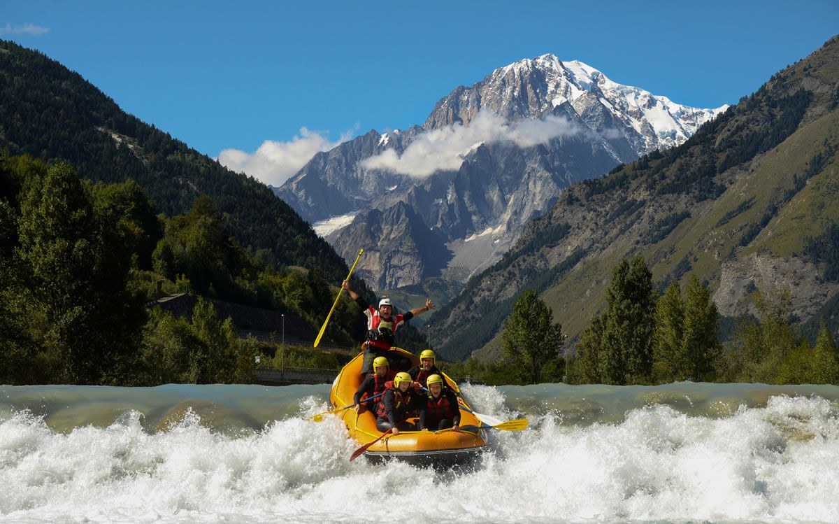 Canoa - rafting - hydrospeed - Courmayeur